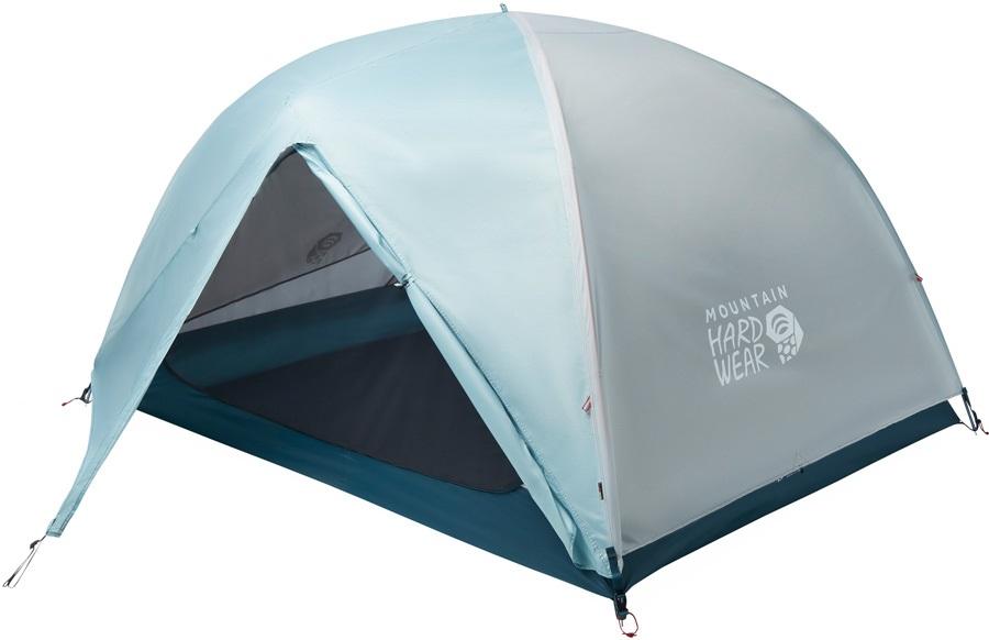 Mountain Hardwear Mineral King 3 Lightweight Hiking Tent, 3 Man Grey