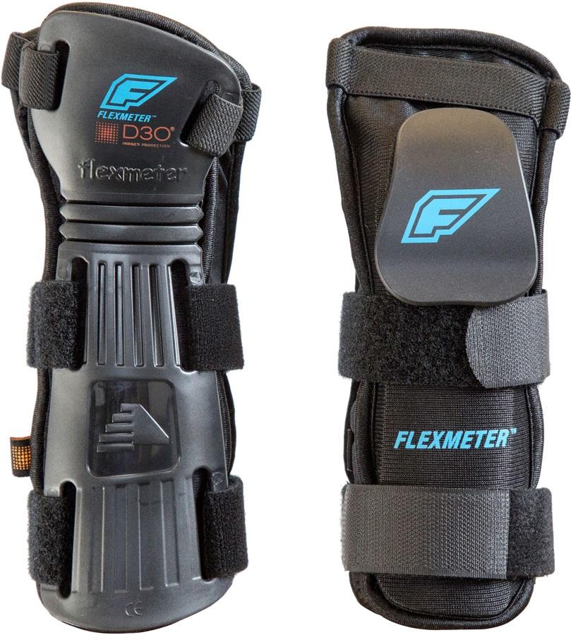 Demon Flexmeter Double Snowboard/Ski Wrist Guards S Black