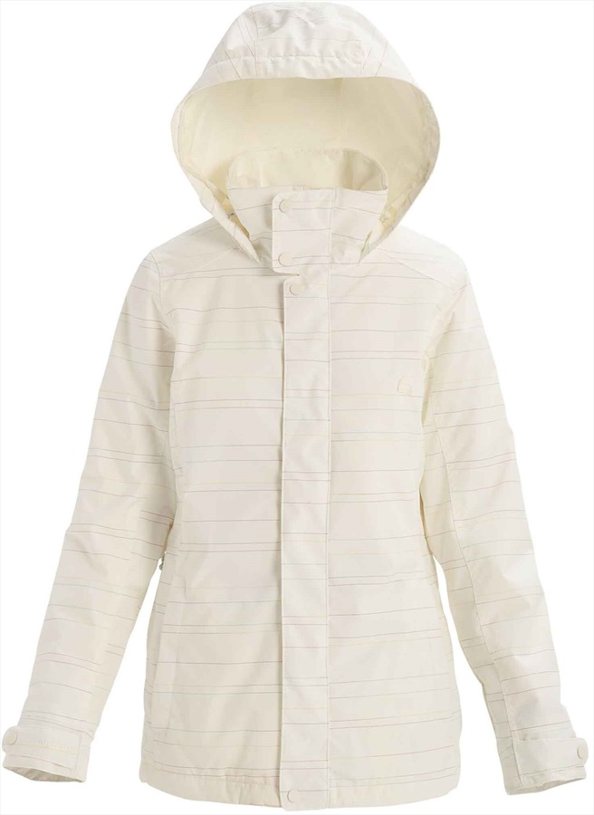 Burton Jet Set Women's Snowboard/Ski Jacket, S Stout White Spacedye