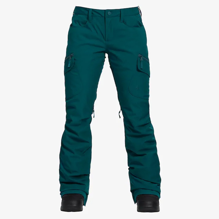 Burton Gloria 2 Layer Women's Snowboard/Ski Pants, S Balsam