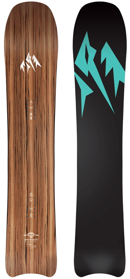 Jones Hovercraft Women's Hybrid Camber Snowboard, 144cm 2020