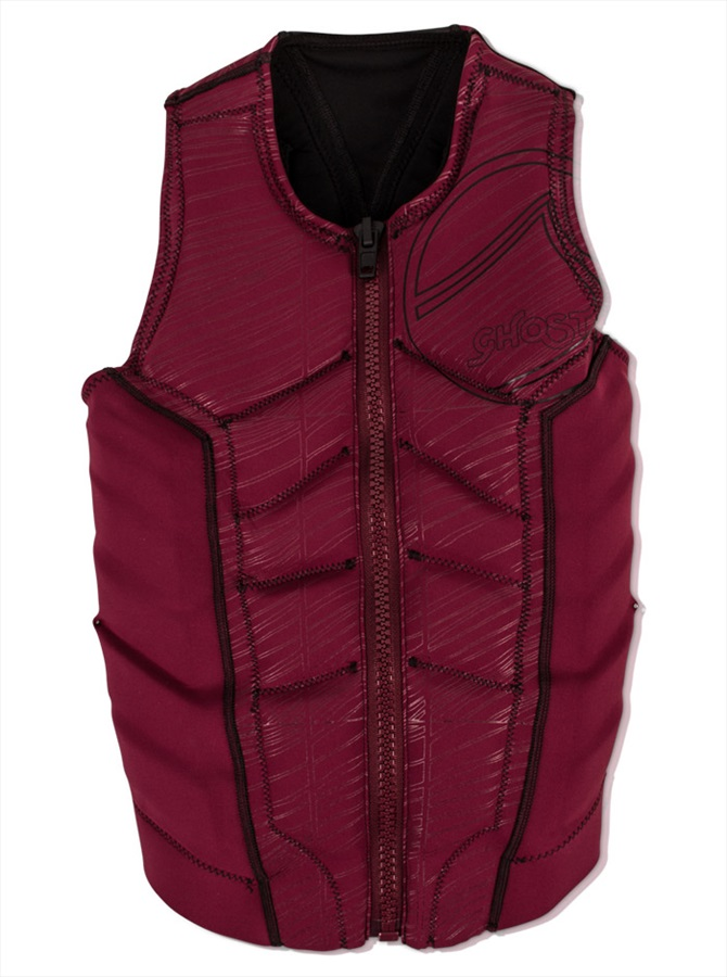 Liquid Force Ghost Comp Ladies Wakeboard Impact Vest, S Wine 2019