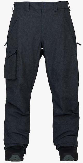 Burton Covert Snowboard/Ski Pants XL Denim