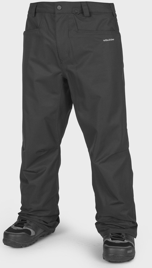 Volcom Carbon Men's Snowboard & Ski Pants L Black