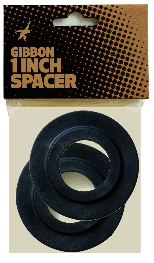 "Gibbon 1"" Spacer For Ratchets Slackline Accessory One Size Black"
