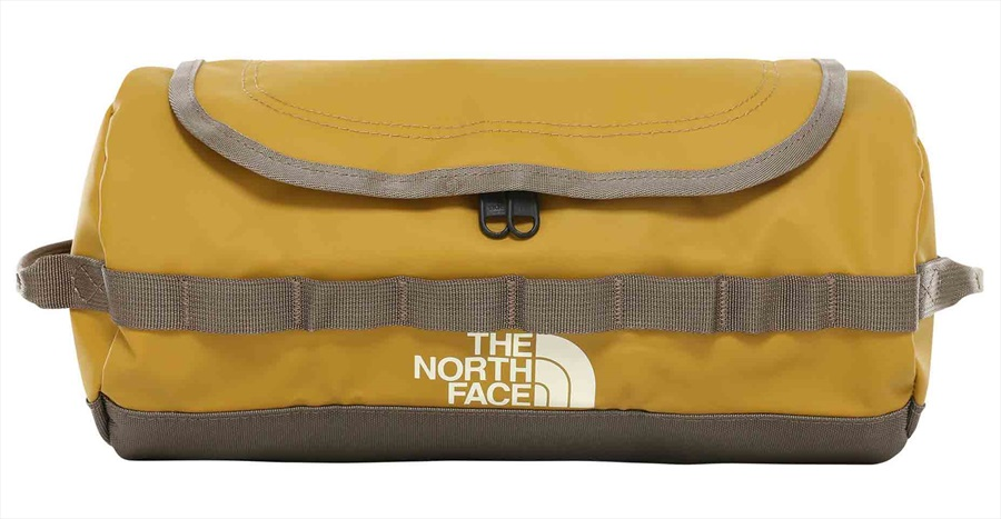26496aebb The North Face Base Camp Travel Canister Wash Bag, L Khaki/Brown