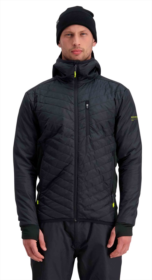 Mons Royale Arete Insulation Hood Midlayer/Jacket M Black