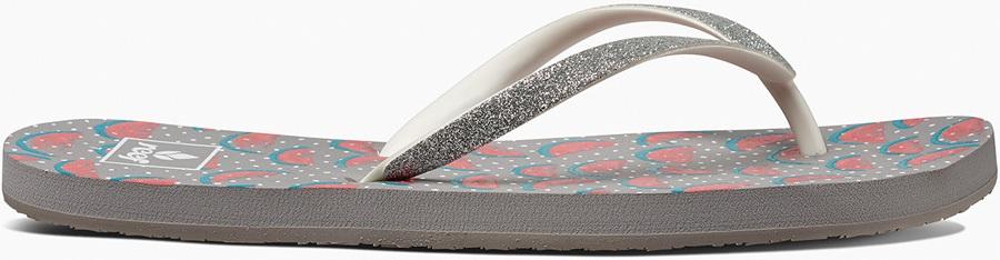 Reef Stargazer Women's Flip Flops, UK 8, Watermelon, Prints