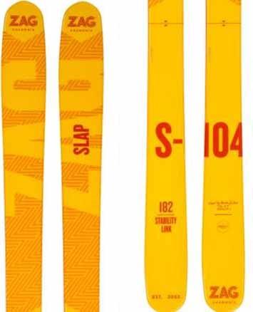 ZAG Adult Unisex S-104 Ski Only Skis, 188cm Orange 2019