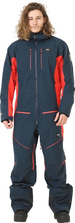 Picture Xplore Ski/Snowboard One Piece Suit, L Dark Blue Red