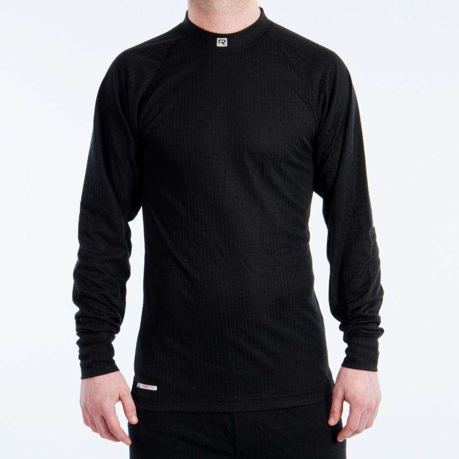 Rucanor Aspen Thermal Top, Men's L/Women's XL, Black