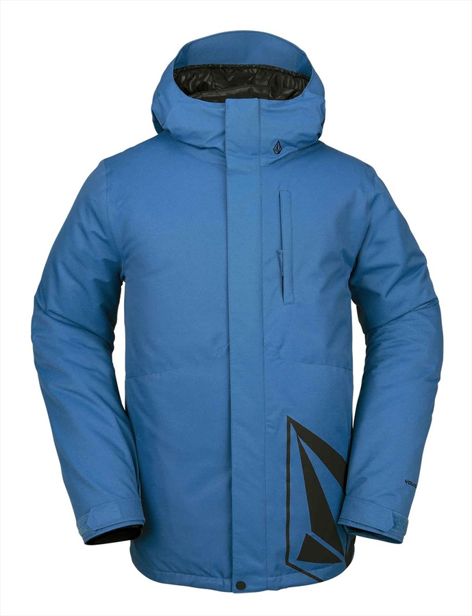 Volcom 17 Forty Insulated Ski/Snowboard Jacket XL Blue