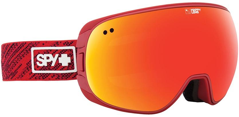 SPY Doom Snowboard/Ski Goggles Knit Red, Gray Green/ Red Spectra