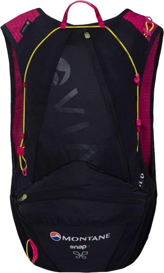 Montane VIA Snap 4 Trail Running Women's Vest Backpack, 4L Black