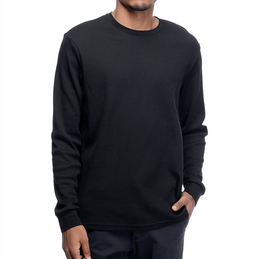 sells beauty moderate cost Nike SB Mens Long Sleeve Dri-Fit Thermal Top, L Black