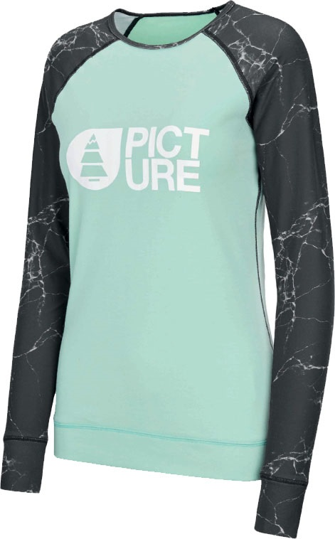 Picture Womens Milita Thermal Top, M Marble