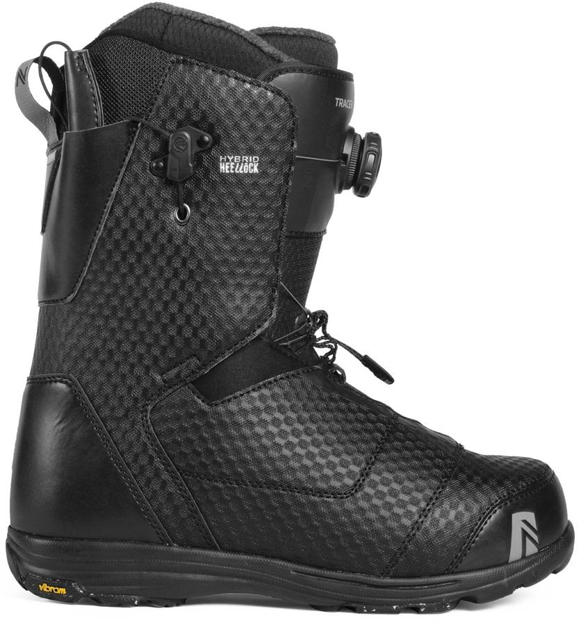 Nidecker Tracer Heel-Lock Coiler Snowboard Boots, UK 12 Black 2019