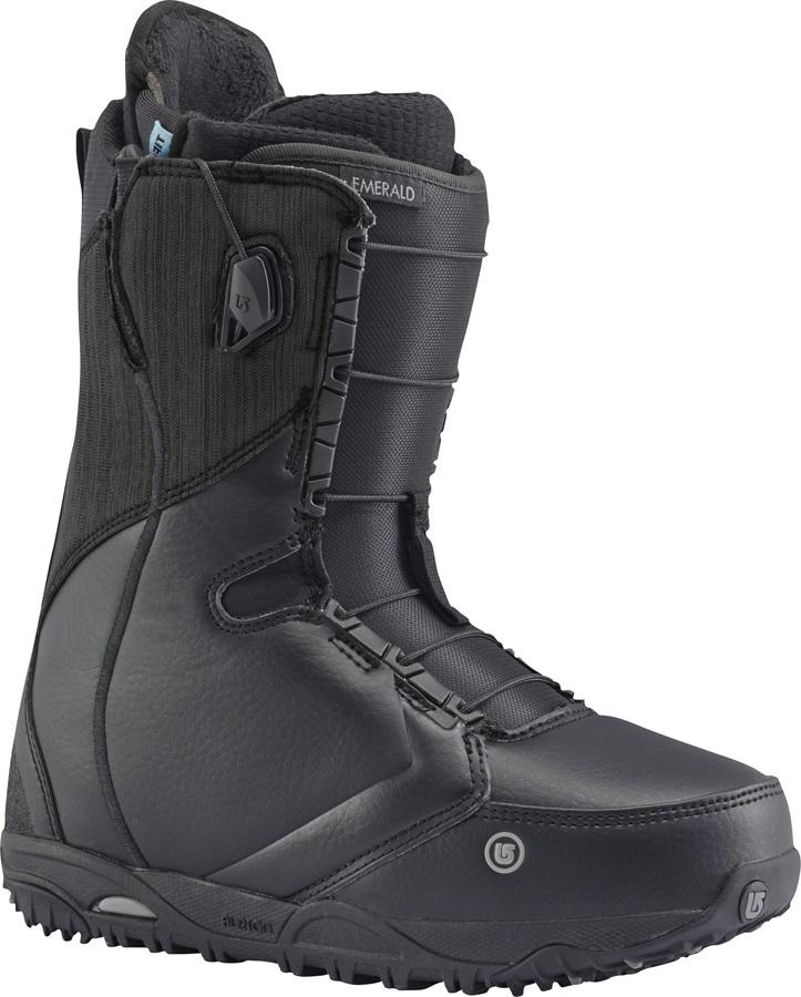 Burton Emerald Women's Snowboard Boots, UK 3.5, Black, 2017