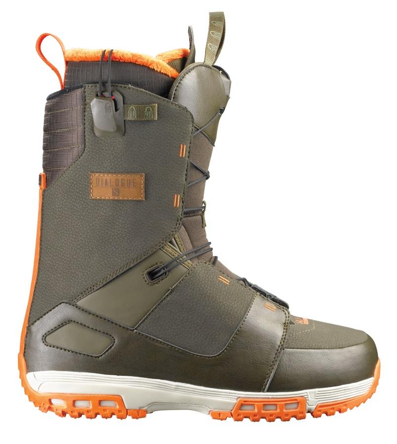 le dernier ef55c 7cdd2 Salomon Dialogue Mens Snowboard Boots UK 11.5 Komando 2014