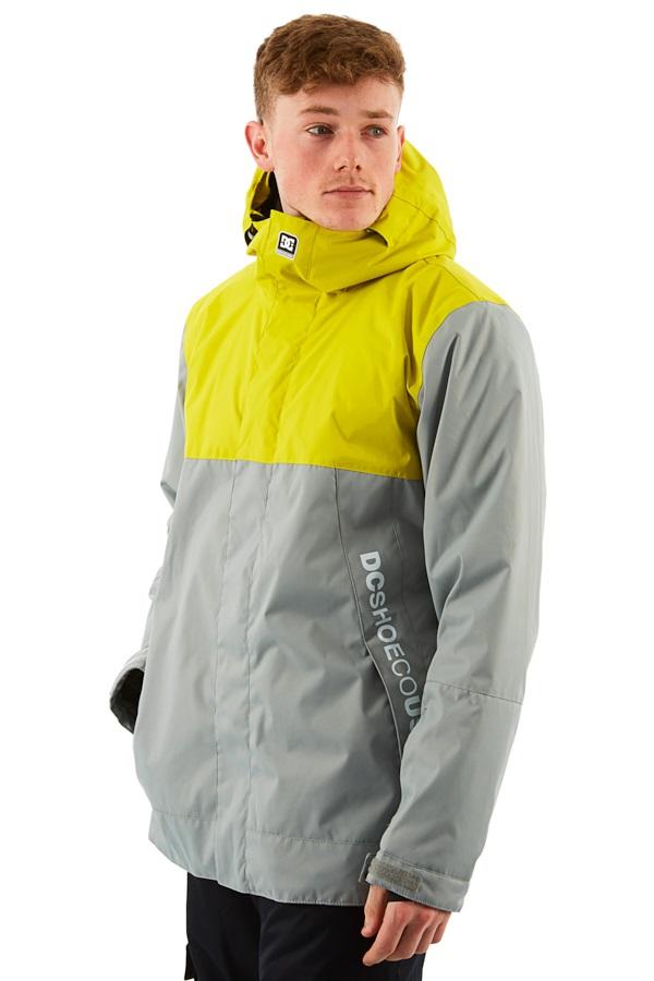 DC Defy Ski/Snowboard Jacket, M Warm Olive