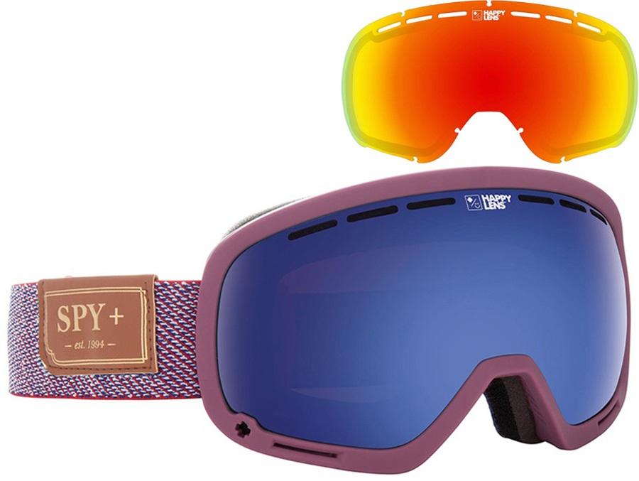 SPY Marshall Snowboard/Ski Goggles Hunter Red