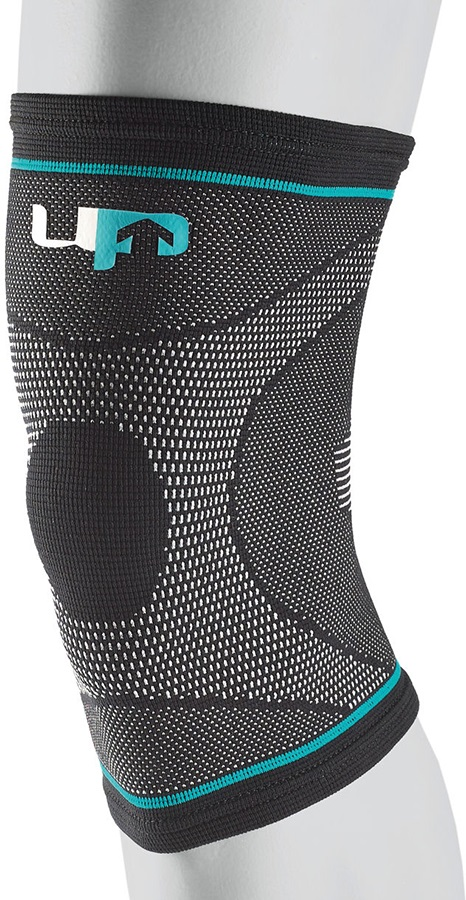Ultimate Performance Compression Elastic Knee Support, S Black/Blue