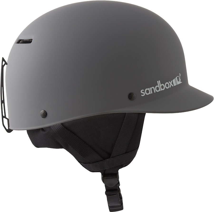 Sandbox Classic 2.0 Snow Ski/Snowboard Helmet, M Matte Grey
