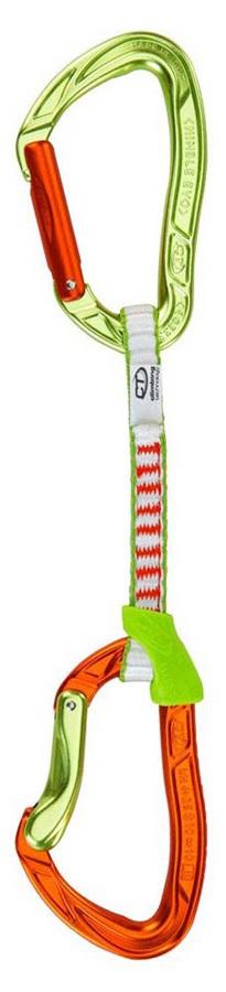 Climbing Technology Nimble Evo Set DY Quickdraws, 12cm / Single Green