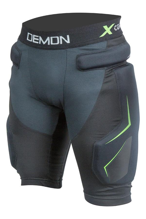 Demon X Connect X D3O Ski/Snowboard Impact Shorts, XXL Black
