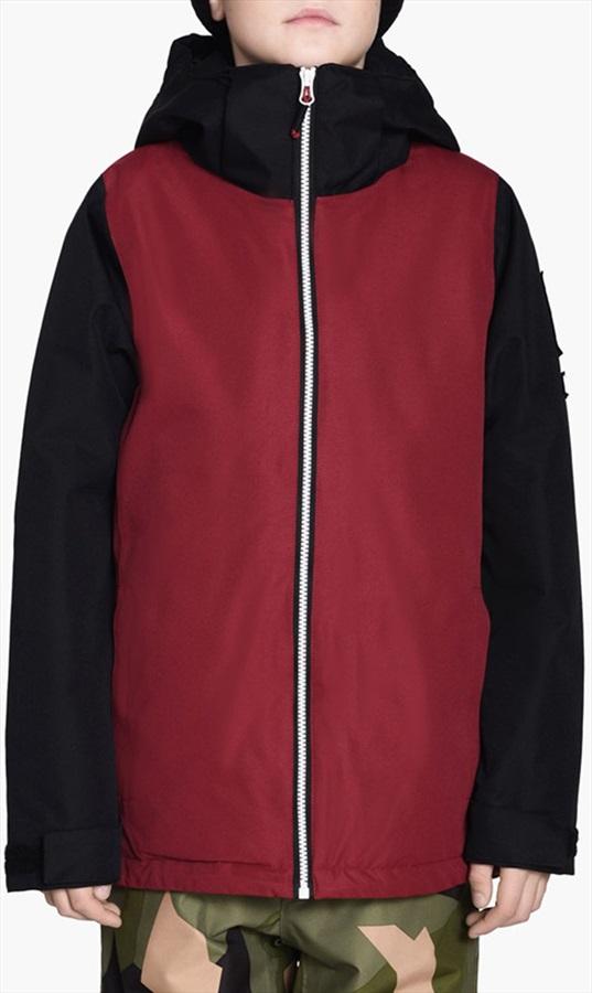 Wearcolour Mirror Youth Ski/Snowboard Jacket, 130cm Burgundy