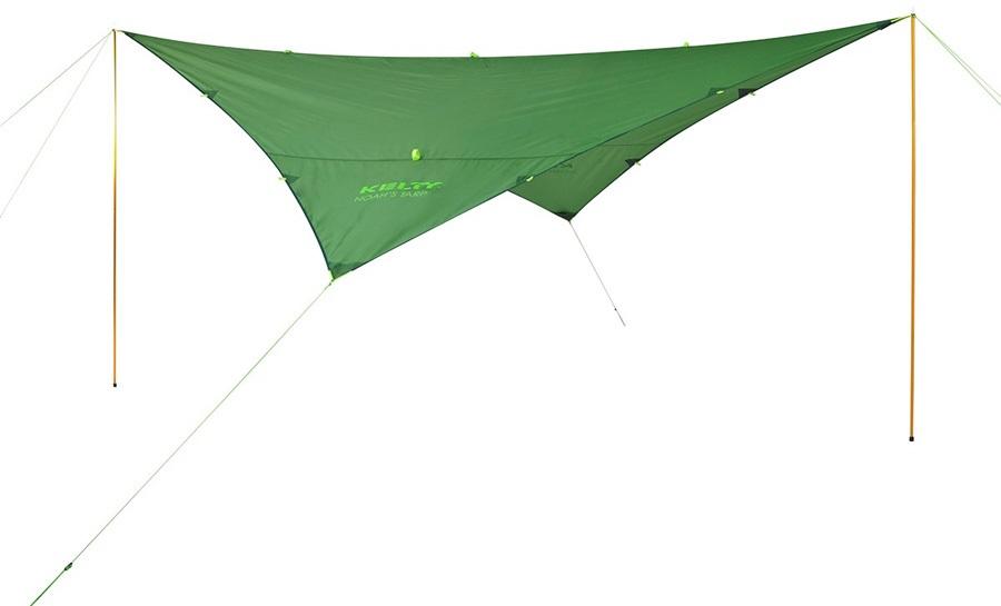 Kelty Noah's Tarp 16 Waterproof Sun & Rain Shelter, 16x16ft Petrol