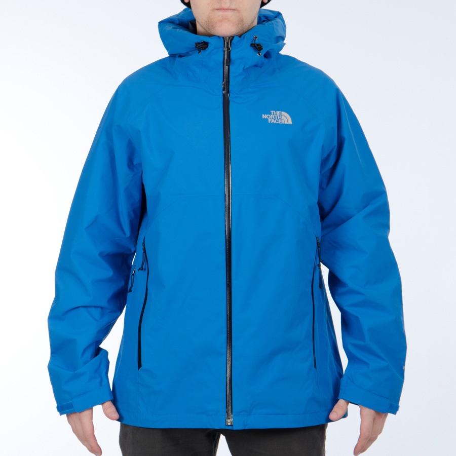834de5cef The North Face Stratos Men's HyVent Rain Shell Jacket, M, Drummer Blue