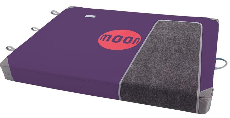 Moon Warrior Bouldering Crash Pad: 130 X 100 X 11cm, Blackberry