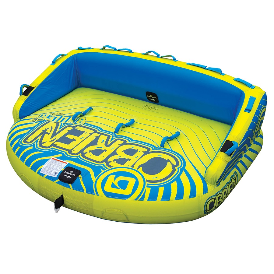 O'Brien Baller ST Towable Inflatable Tube, 4 Rider Yellow 2020