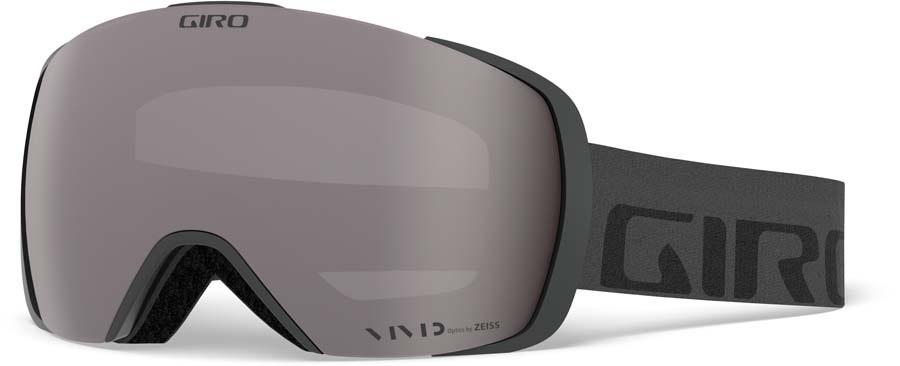 Giro Contact Vivid Onyx Ski/Snowboard Goggles, L Grey Wordmark