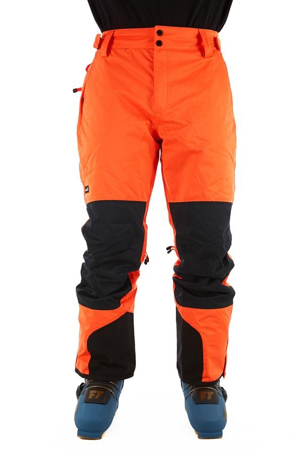 Planks Feel Good Ski/Snowboard Pants, S Orange