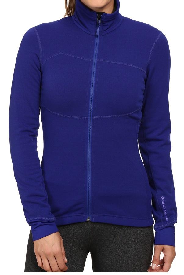 Black Diamond CoEfficient Jacket Women's Polartec Fleece UK12 Spectrum