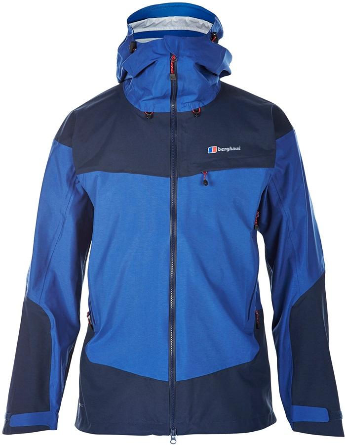 best website 36c3a a0b64 Berghaus Tower Hydroshell Waterproof Jacket, XL, Twighlight Blue/Dusk