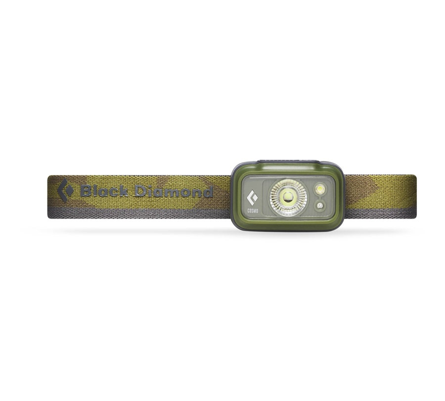 Black Diamond Cosmo LED Headlamp, 225 Lumens Dark Olive