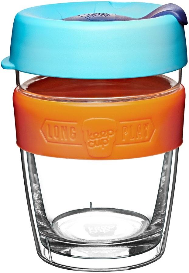 12oz Rosetta 340ml KeepCup LongPlay Glass Reuseable Coffee Cup Travel Mug