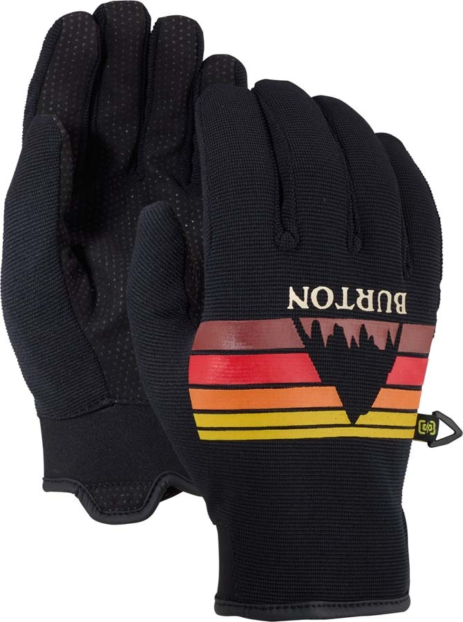 Burton Formula Ski/Snowboard Gloves, M True Black Sunset