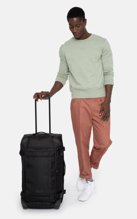 Eastpak Adult Unisex Tranverz CNNCT M Wheeled Bag/Suitcase, 78L Navy