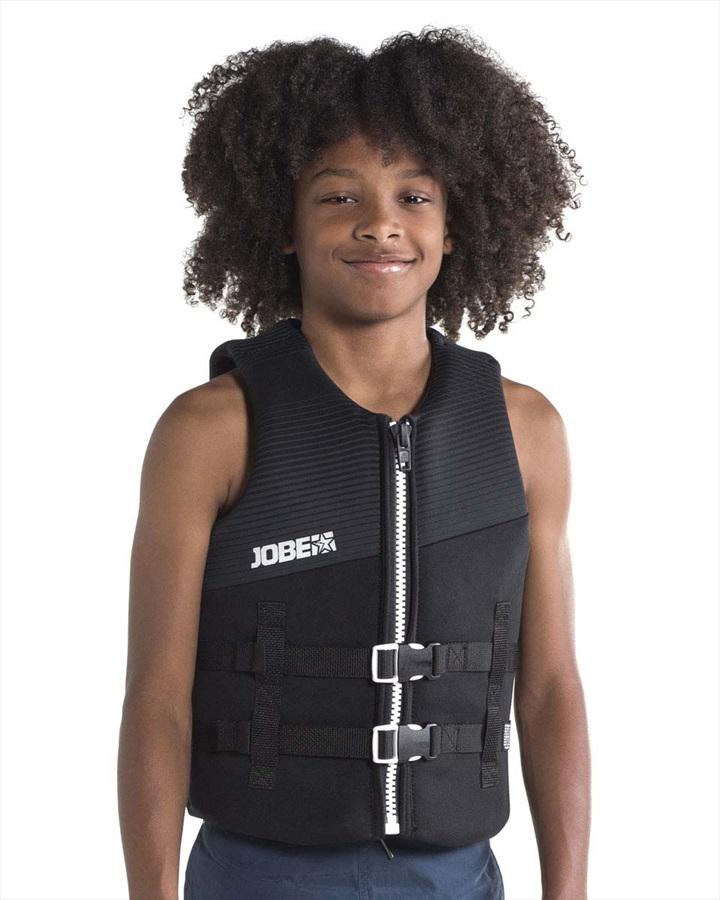 Jobe Neoprene 50N ISO Kids Buoyancy Vest, 8 Black 2019