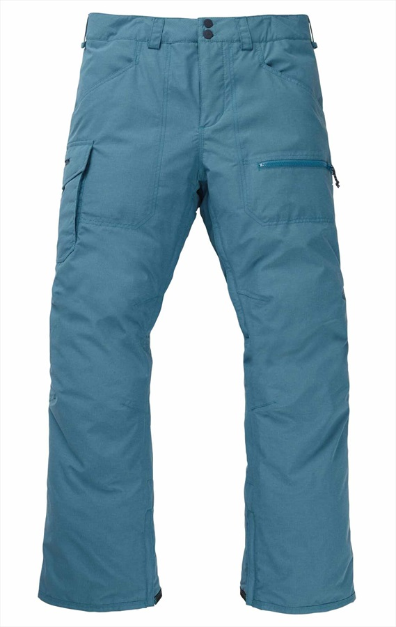 Burton Covert Insulated Snowboard/Ski Pants Trousers, L Storm Blue