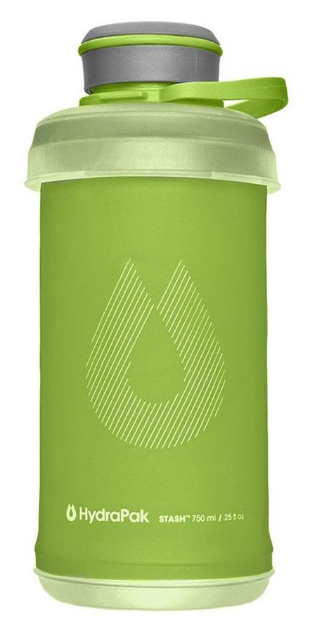 HydraPak Stash Bottle Collapsible Water Bottle, 750ml Sequoia Green